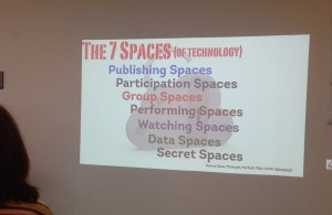 7 Spaces in a Library